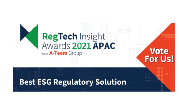 La Meer Inc. Nominated By A-Team Regtech Insight For Our GRACE ESG For Corporates Cloud Based Solution